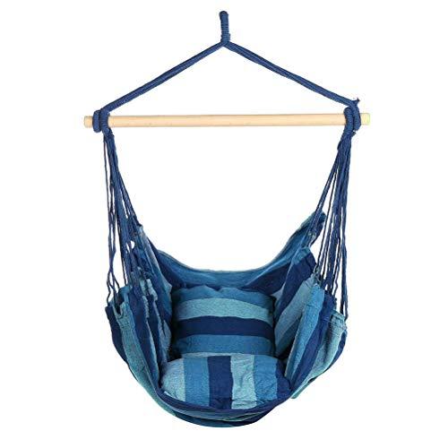 HUYA Hammock Outdoor Relax Capacity Hanging Garden Swing Chair Bed for Patio Garden Porch Yard Bedroom 120KG,01