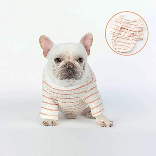 Sommer Haustier Kleidung, Hund Kleidung T-Shirts Panzer Welpen Weste T-Shirt Katze Kleidung Top Thread Westen Für Mittelgroße Kleine Hunde,M
