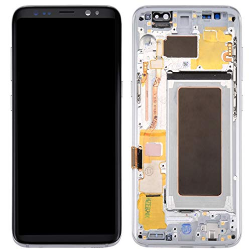 ELECTRONICS MobilePhone REPLACEMENT PART COU New LCD-scherm + New Touch Panel met Frame for Galaxy S8 / G950 / G950F / G950FD / G950U / G950A / G950P / G950T / G950V / G950R4 / G950W / G9500 (zwart)