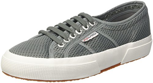 Superga 2750-MESHU, Sneaker Unisex-Adulto, Verde (Green Hedge 075), 42 EU
