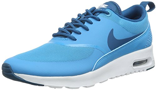 Nike Damen Wmns AIR MAX Thea Sneakers, Blau (411 Blue Lagoon/Green Abyss-White), 38 EU/7 US
