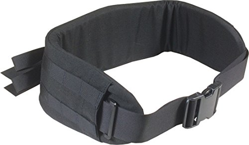 Fire Force A.L.I.C.E. Pack Enhanced Padded Belt, Kidney Belt Made in USA (Black)