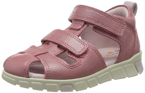 Ecco Baby Mädchen MINISTRIDESANDAL Sandalen, Pink (Bubblegum 1399), 27 EU