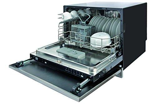 Lavavajillas compacto Plados – 6 cubiertos – Eficiencia A+ (sin puerta y asa de acero inoxidable)