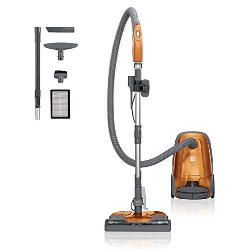 Kenmore 81214 200 Series Pet Friendly Lightweight Bagged Canister Vacuum Cleaner with HEPA Filter, 2 Motor System, and 3 Cleaning Tools