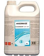 Gre Invernador líquido para Piscinas, 5 L, Blanco, 19x13x30 cm, 90035