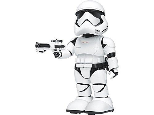 UBTECH - Jimu Star Wars Stormtrooper, Robot Interattivo, Comando Vocale, Riconoscimento del Volto, App di Controllo per iPhone/iPad -14 Anni in su
