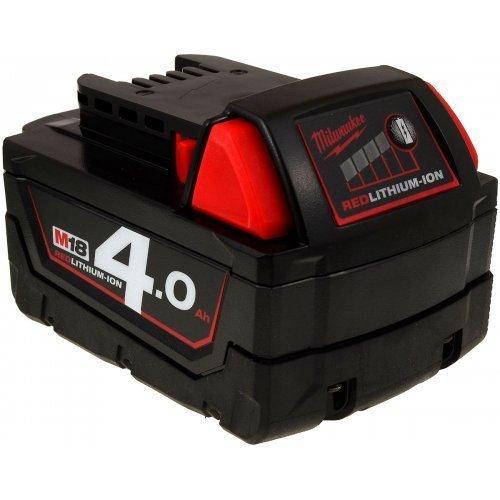 Milwaukee - Batería Original para Martillo Combinado M18CHX-0X (4,0 Ah, Ion de Litio, 18 V)