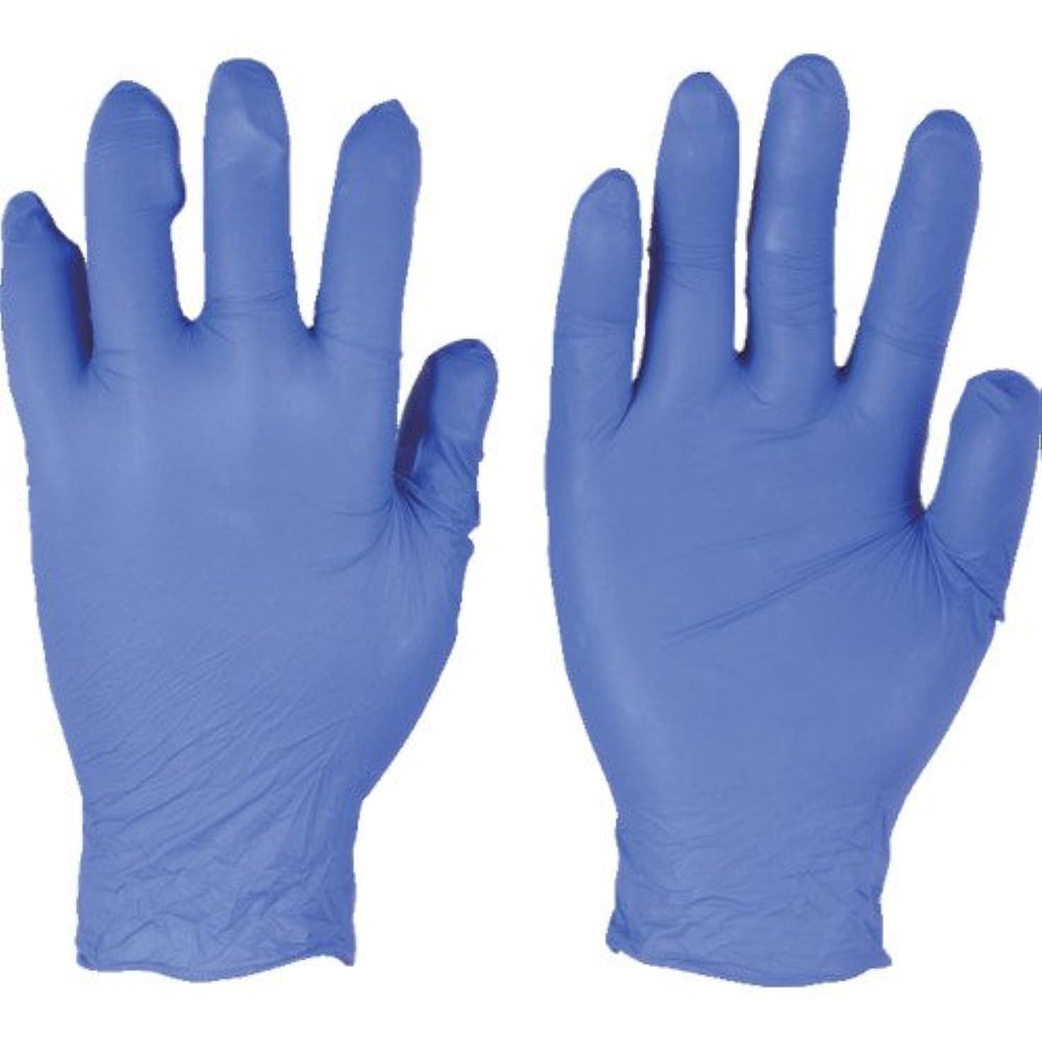 法王些細な刃アンセル ニトリルゴム使い捨て手袋 エッジ 300枚入 Mサイズ 300枚入 82-133-8