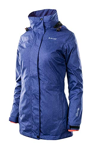 Hi-Tec Damen Lady Lizzy 3 In 1 Winterjacke, Astral Aura Melange/Fresh Salmon, M