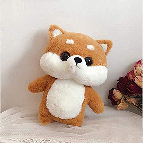 Junsansir Peluche Dinosaurio Doll Doll Super FEA Funny Bed Pillow Husky Doll Brown 35cm