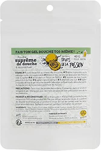 STEP ONE Gel de ducha en polvo de fruta de la pasión, 40 g
