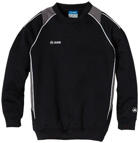 Jako Kinder Sweatshirt Sweat Attack 2.0, Schwarz/Grau, 128, 8672-08