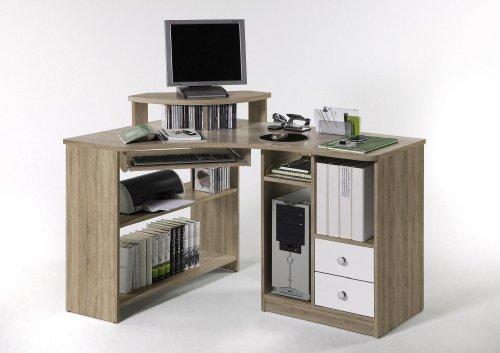 Wohnorama Eckschreibtisch Computertisch Tanga von Bega Sonoma Eiche by