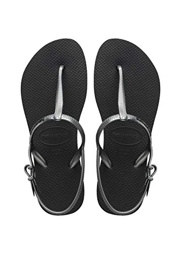 Havaianas Freedom, Women's Sandals, Black (Black), 37 / 38 EU