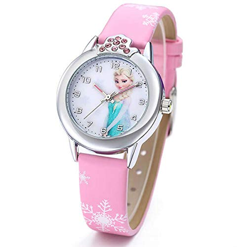Frozen Armbanduhr für Mädchen mit Elsa und Anna