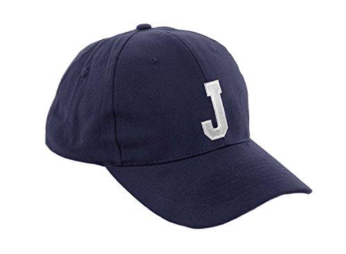 morefaz unisex pojkar flicka mössa baseball cap marinblå hatt barn keps alfabet A-Z TM