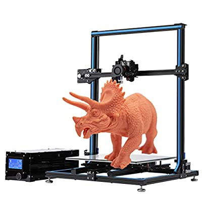 Rinkmo 3D Printer with Resume Printing,Assembly DIY Kit Metal Frame and Removable Build Surface Large Plate 310x310x400mm