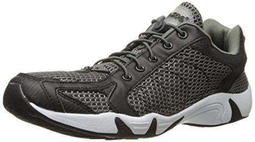 ROCSOC Water Shoes for Men Aqua Shoes & Beach Sports, Black/Grey, 13