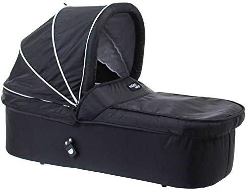 Valco Baby Bassinet Carry cot carrycot navicella for Snap DUO (Black Beauty)