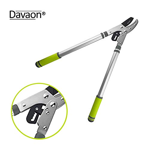 Davaon Pro Ratchet Telescopic Anvil Lopper