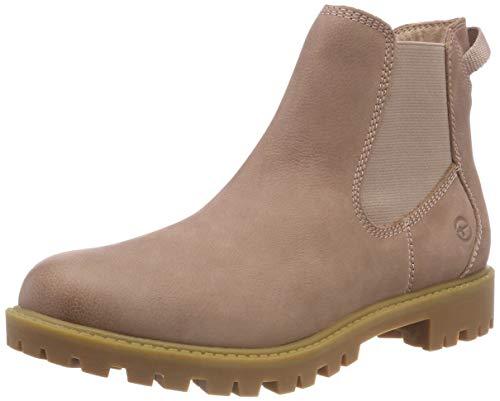 Tamaris Damen 25401-21 Chelsea Boots, Pink (Rose 521), 38 EU
