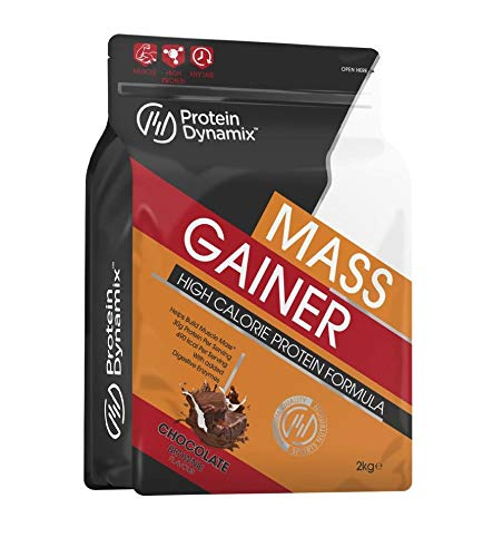 Protein Dynamix 2kg Complete Mass Gainer High Calorie Weight Gain Formula (Chocolate Brownie)