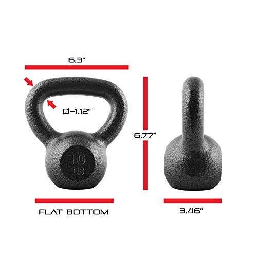 CAP Barbell Cast Iron Kettlebell