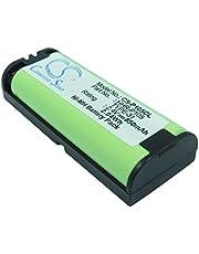 TECHTEK batería sustituye 700503110, para 86420, para BBTG0658001, para BT-1009, para BT-1009A, para BT-1024, para HHR-P105, para HHR-P105A/1B, para Type 31 Compatible con [Avaya] 3920, AP680BHP-AV,