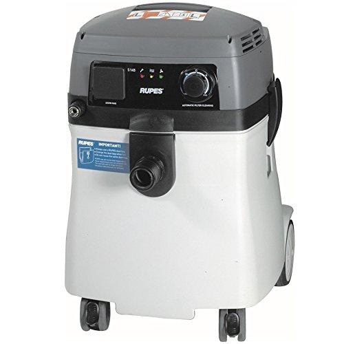 RUPES Aspiradora electroneumática profesional S145EPL con filtro de limpieza 230V – extremadamente...