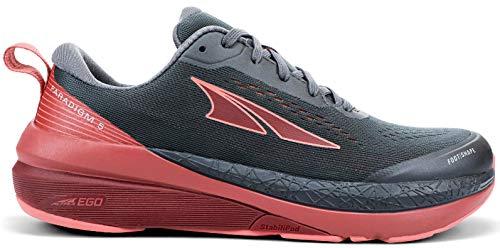 ALTRA Women's AL0A4VQY Paradigm 5 Road Running Shoe, Gray/Coral/Port - 8 M US