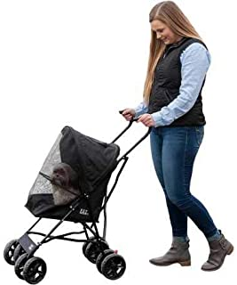 Pet Gear Ultra Lite Travel Stroller, Compact, Large Wheels, Lightweight, 38
