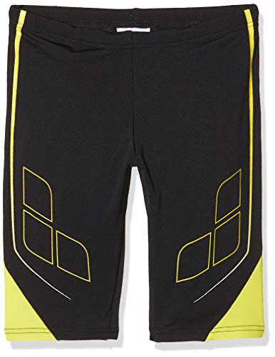 ARENA Jungen Badehose Destiny Jammer, Black-Yellow Star, 152