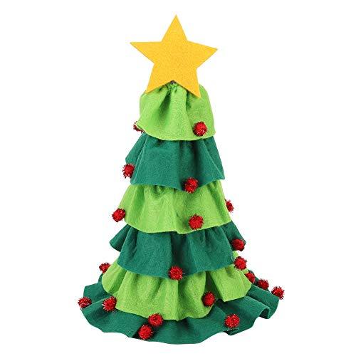 Cubierta de botella de vino de gnomos de Navidad, adornos de botella de vino Bolsas de botella de Papá Noel con estilo de cordón para decoraciones navideñas en casa de vacaciones(Verde)