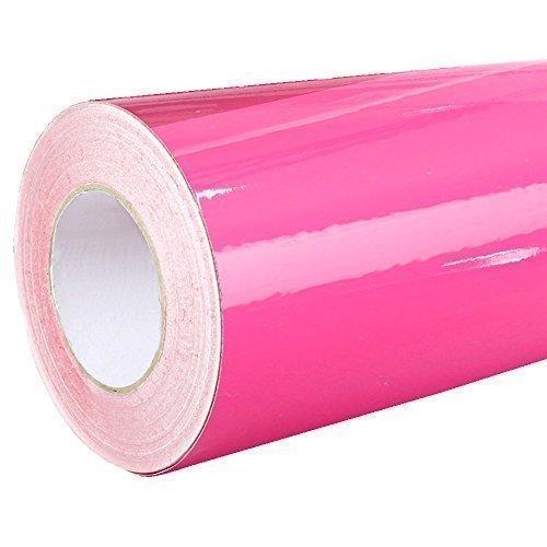 4,41€/m² Rapid Teck® Glanz Folie - 041 Pink - Klebefolie - 5m x 63cm - Plotterfolie - selbstklebende Folie - auch als Moebelfolie - Dekofolie