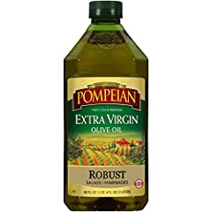 Farmer-Crafted Robust flavor Imported, first cold pressed extra virgin olive oil Perfect for pasta, marinades and salad dressings Packaging May Vary