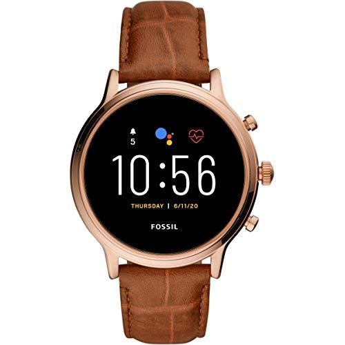 FOSSIL Reloj de mujer con pantalla de cuero FTW6063