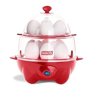 Dash DEC012RD Deluxe Egg Cooker