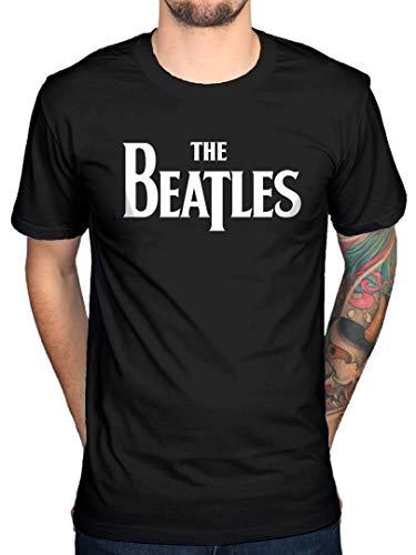 Oficial The Beatles Drop T Logo T-Shirt
