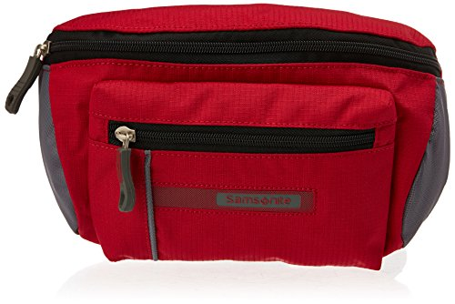 Samsonite 41251 - Riñonera Deportiva Wander-Full Belt Bag 2 litros, Color Rojo