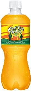 Cactus Cooler Orange Pineapple Soda 20 Oz (24 Pack)
