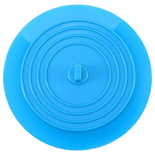 Mudder Silicone Évier Passoire Filtre à Evier de Cuisine pour Cuisines, Salles de Bains et Blanchisseries 6 Pouce (Bleu)