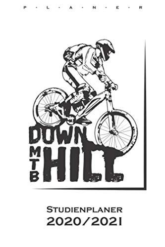 Downhill MTB Studienplaner 2020/21: Semesterplaner (Studentenkalender) für alle Liebhaber und Fans des Zweiradsports