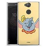 Coque en Silicone Compatible avec Sony Xperia XA2 Étui Silicone Coque Souple Dumbo Disney...