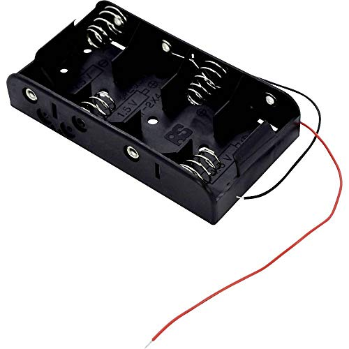 Takachi SN24 Batteriehalter 4X Baby (C) Kabel (L x B x H) 107.4 x 58.3 x 23.3 mm