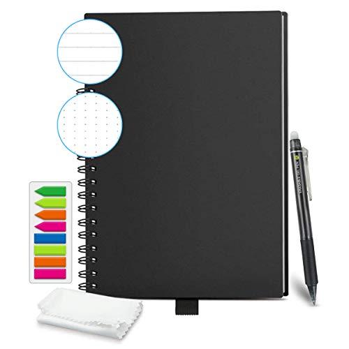 HOMESTEC Cuaderno Inteligente Reutilizable | Tamaño B5 (176x250) | Hojas...