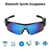 Wireless Bluetooth Headset Sonnenbrille wasserdicht intelligente Polarisations-Brille-Stereo-Kopfhrer Intelligente Lossless Noise Reduction freihndiges Fahren Sport Radfahren Mnner Frauen,Blau