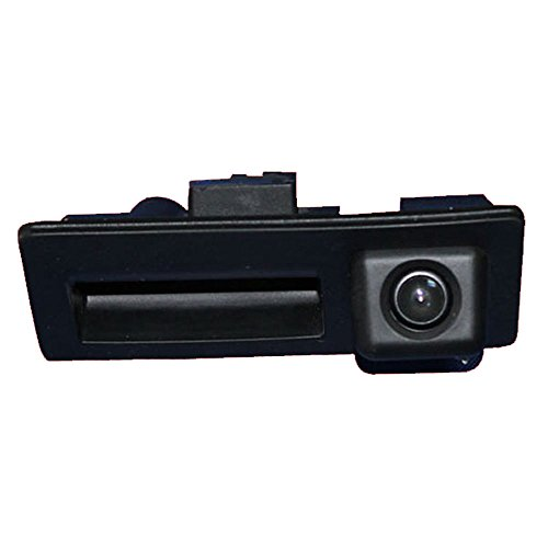 Navinio Wasserdicht Nachtsicht Auto Kofferraum Griff Rückfahrkamera Rückfahrkamera für VW Tiguan Touareg Lavida Sharan Sagitar Passat Golf VI Variant Audi A4 A3 A6L A8