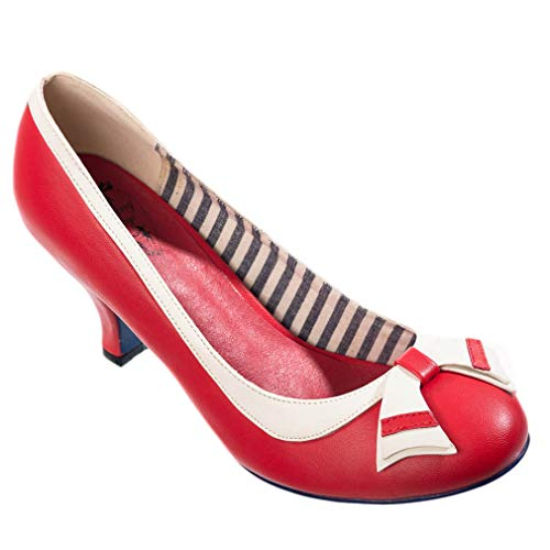 Dancing Days Pumps - Sparkle Falls Rot (38 EU, Rot)