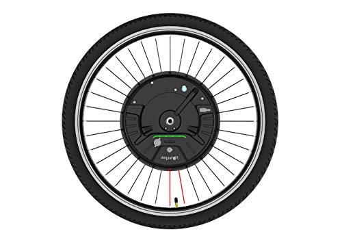 imortor Kit de conversión de Bicicleta eléctrica 3.0 con bateria inalámbrica o Solo un Cable, Todo en uno, 40 km/hy 40 km (LCD + Freno de Disco, Rueda de 29 Pulgadas, Neumático de 2.125 Pulgadas)